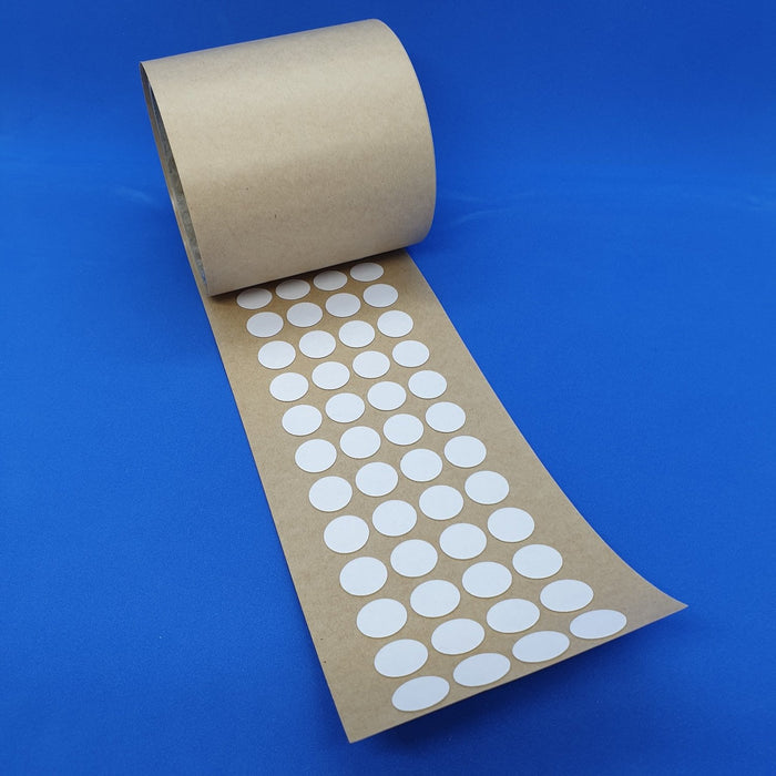 Double Sided Transparent Removable Adhesive Gel Dots on Reel FOA4/RT15-Adhesive Pads-Hang and Display