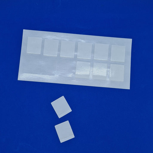 Double Sided Transparent Removable Adhesive Gel Pads on Sheet FOA10/25-Adhesive Pads-Hang and Display