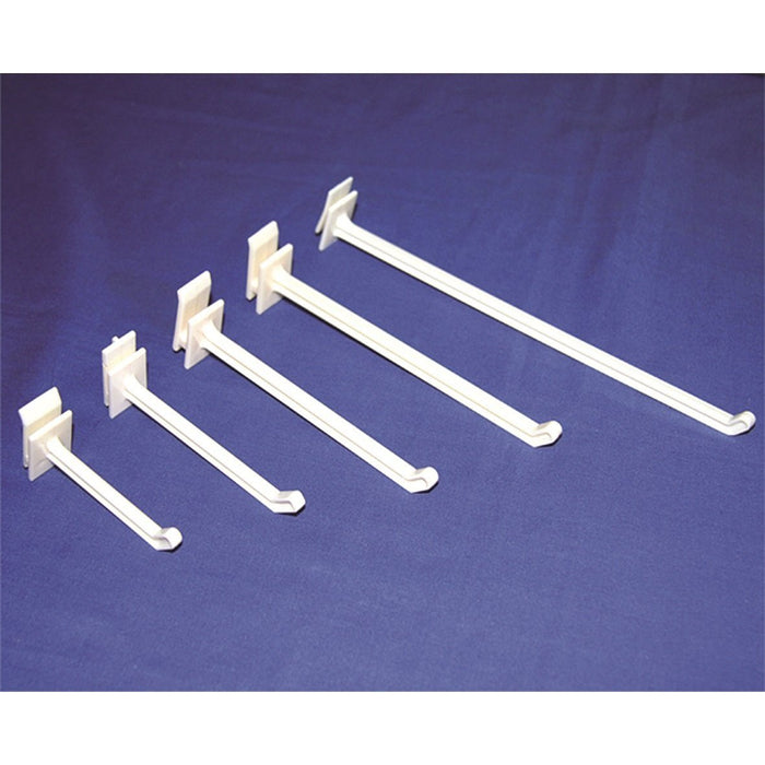 EZ Hook Single Prong Plastic Merchandising Hook HP3 HP12 HP15 HP18 HP22-EZ Hooks-Hang and Display