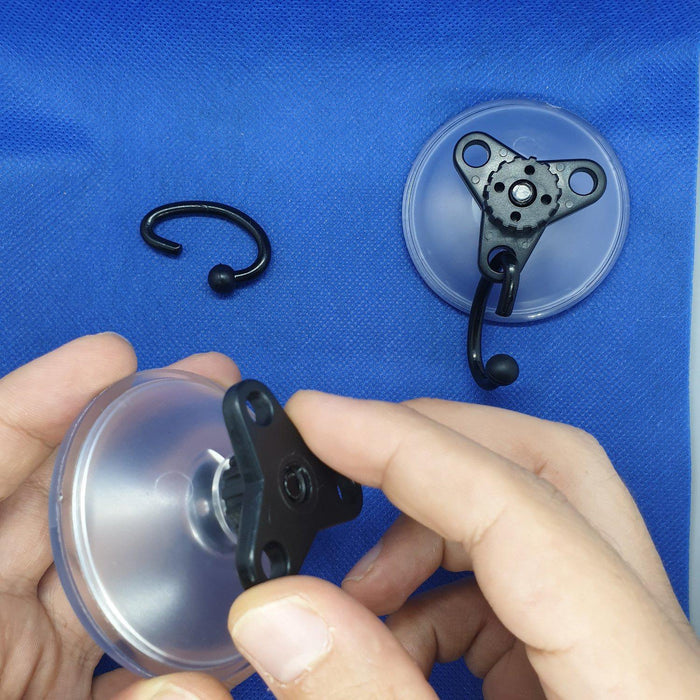Heavy Duty Suction Cup with Metal Hook and Screw Lock SUC9-Suction Cups-Hang and Display