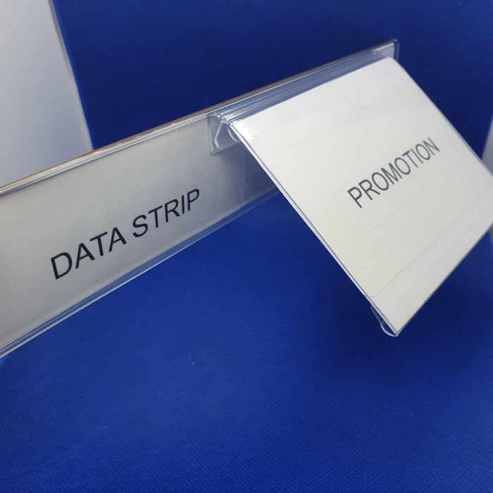 Hinged Label Holder for Data Strips LAB15 - Hang and Display