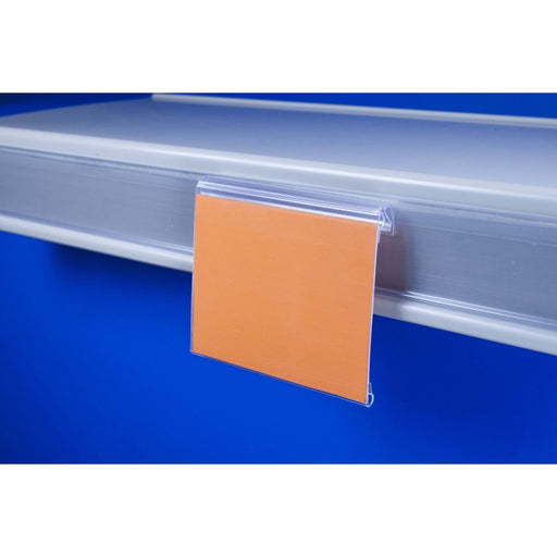 Hinged Label Holder for Data Strips LAB15-Data Strip-Hang and Display