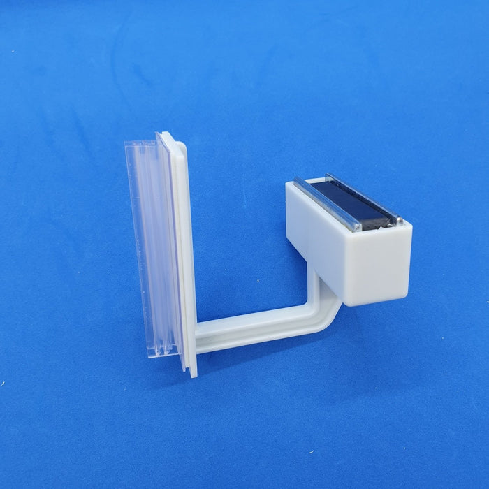 Magnetic Shelf Mounted Aisle Blade Holder with Gripper RAZ6