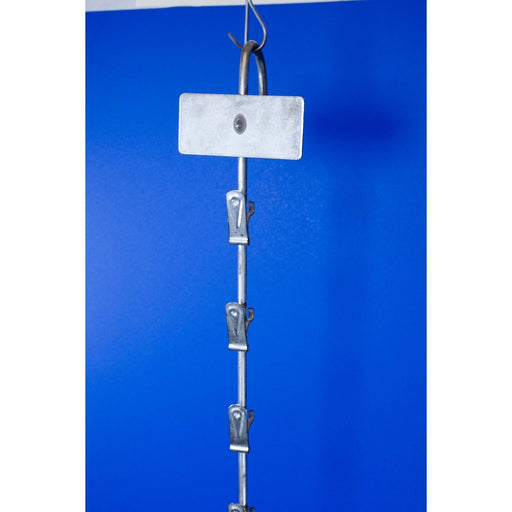 Metal Clip Strip 12 Station 820mm MHS1 - Hang and Display