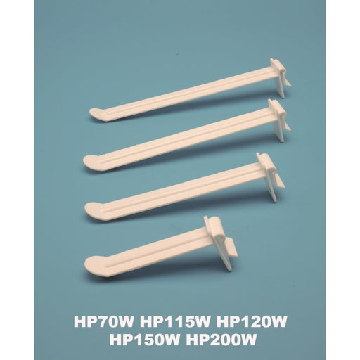 Multi Display Flat Plastic Butterfly Merchandising Hook HP-W-Multi-Display Hooks-Hang and Display