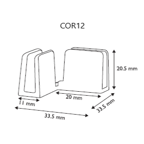 Panel Assembly Connector Angle Joiner COR12 COR13 - Hang and Display