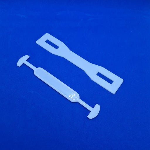 Plastic Handle with Reinforcing Plate for Cardboard Boxes