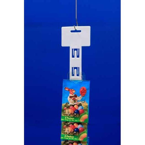 Plastic Hang Strip 12 Station 650mm H139 - Hang and Display