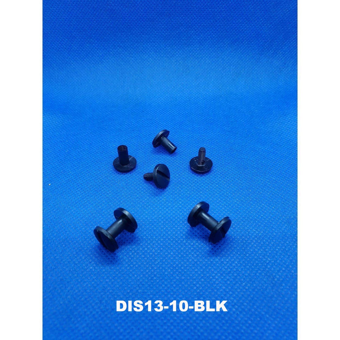 Plastic Screwlock Fixed Length Chicago Screws DIS13-Screws, Ratchets and Rivets-Hang and Display