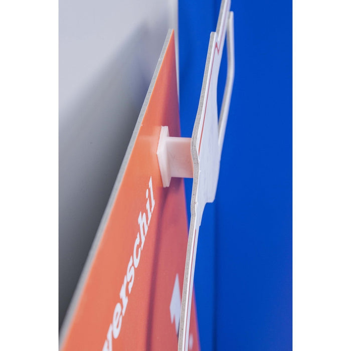 Plastic Sign and Media Spacer with Adhesive Pads WOB5 - Hang and Display