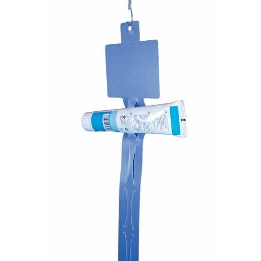 Plastic Tube Holder Hang Strip 12 Station 1030mm