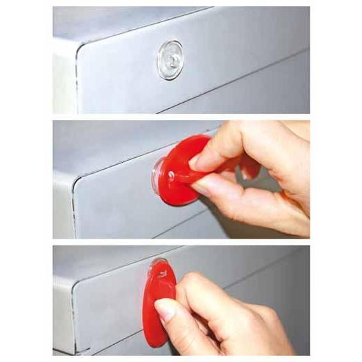 Premium Hanger Button with Removable Adhesive Base - Fixtwist HAN01R/T - Hang and Display