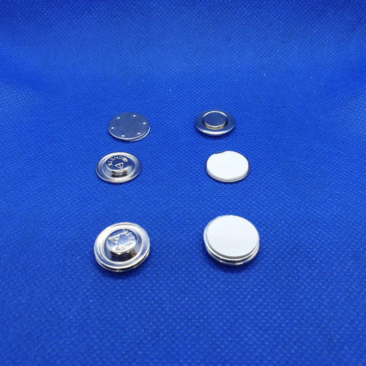Round Adhesive Magnetic Button Set MAG8R-Badge Holders-Hang and Display