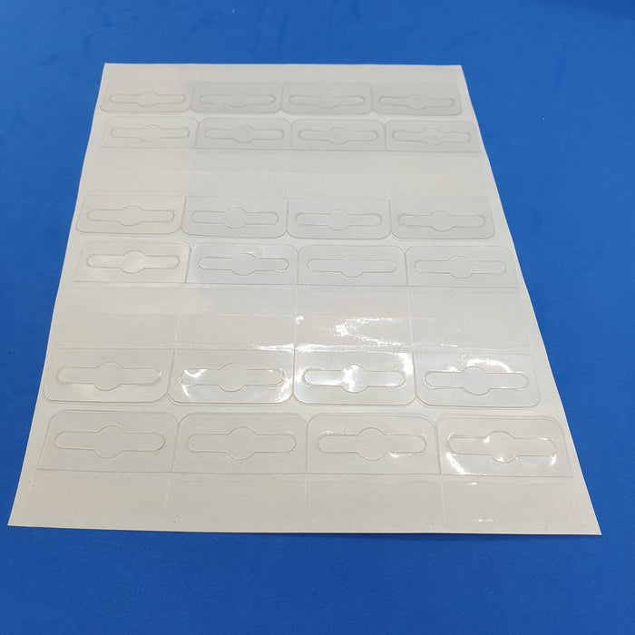 Self Adhesive Hang Tabs Euro Slot on Sheet REF-55429-Hang Tabs-Hang and Display