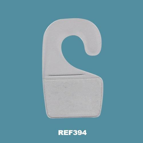 Self Adhesive Hang Tabs with Open Hook on Reel REF-394-Hang Tabs-Hang and Display