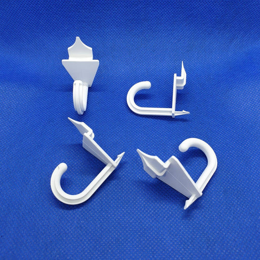 Self Piercing Plastic Hook for Cardboard Displays PRO2-Quick-Fix Hooks-Hang and Display
