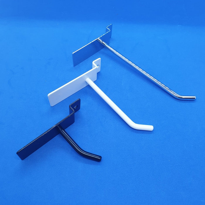 Slatwall Single Prong Metal Display Hooks-Hooks-Hang and Display