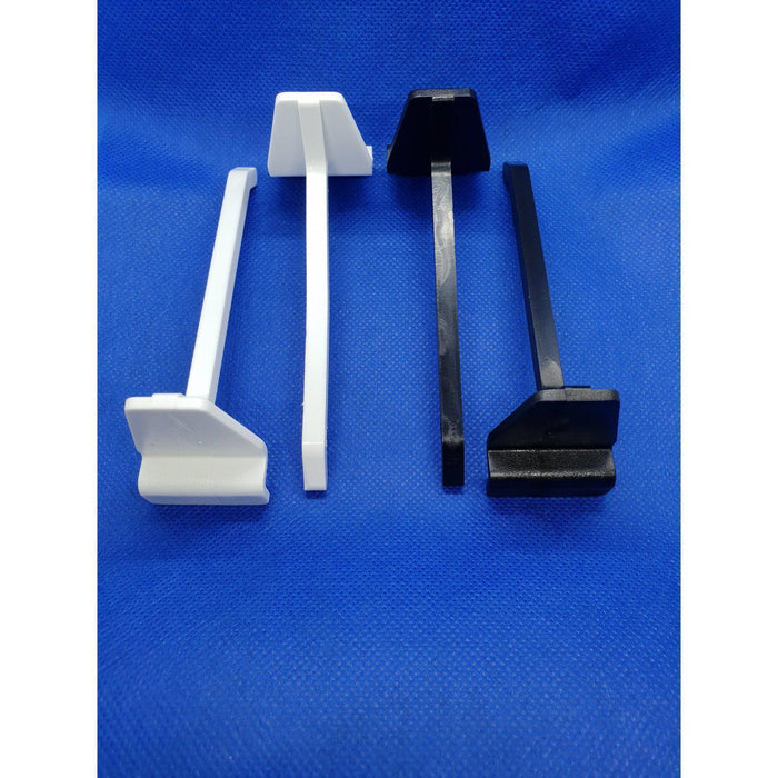 Slatwall Single Prong Plastic Merchandising Hook For Slot Wall PEG34-Slatwall Hooks-Hang and Display