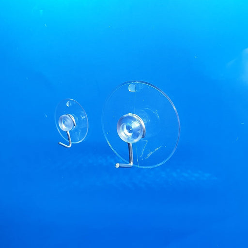 Suction Cup Transparent with Metal Hook SUC2-Suction Cups-Hang and Display