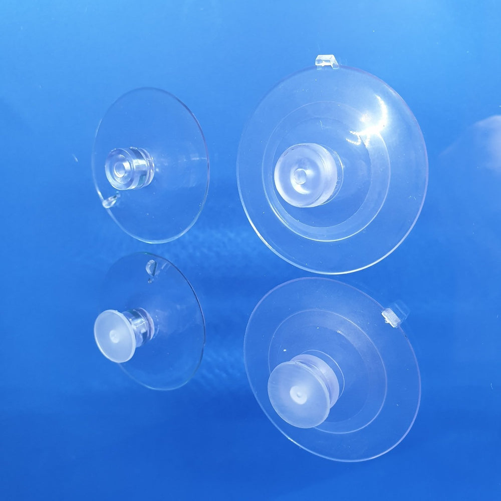 Suction Cup Transparent with Thumbtack SUC3 SUC6-Suction Cups-Hang and Display