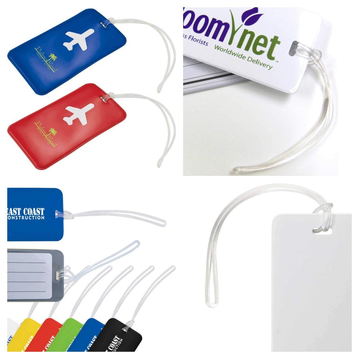 Transparent Arrow Loop Luggage Tag ATT14-Attachments-Hang and Display