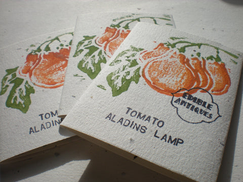 """Aladdin's Lamp Cherry"" Tomato Seeds - Edible Antiques"