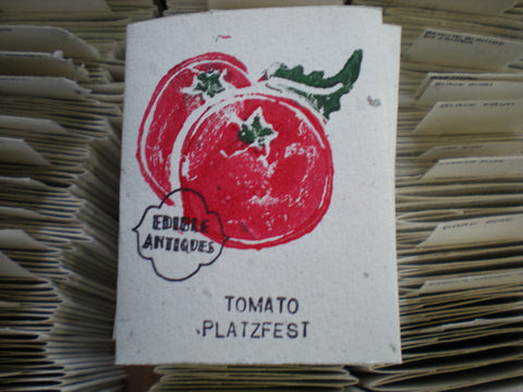 """Platzfest"" Tomato Seeds - Edible Antiques"