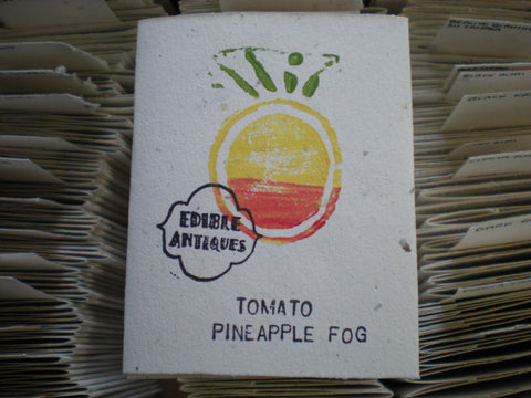 """Pineapple Fog"" Tomato Seeds - Edible Antiques"