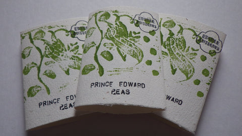 """Prince Edward"" Pea Seeds"