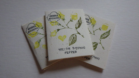 """Yellow Biquinho"" Pepper Seeds"