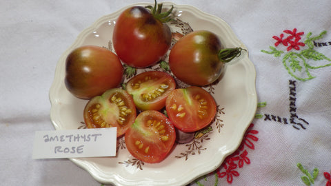 """Amethyst Rose"" Tomato Seeds"