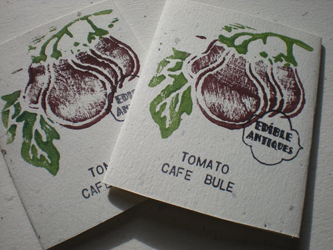 """Cafe Bule"" Tomato Seeds - Edible Antiques"