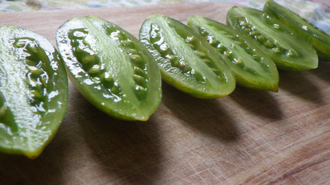 """Green Tiger"" Tomato Seeds"