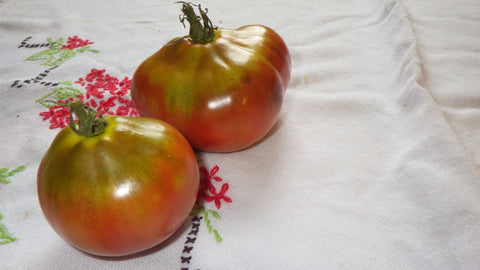 """Japanese Black Trifele"" Tomato Seeds"