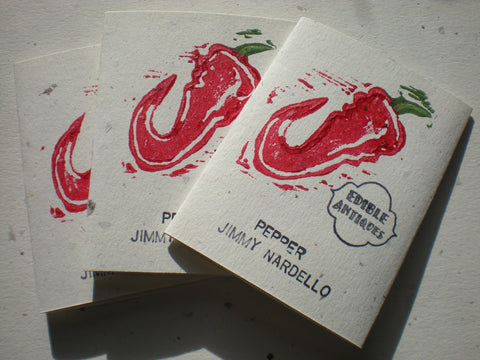 """Jimmy Nardello"" Pepper Seeds - Edible Antiques"