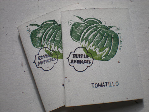 """Toma Verde"" Tomatillo Seeds - Edible Antiques"