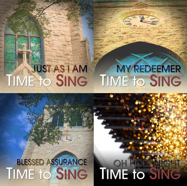 Just As I Am, My Redeemer, Blessed Assurance, Oh Holy Night (4 CD Set)