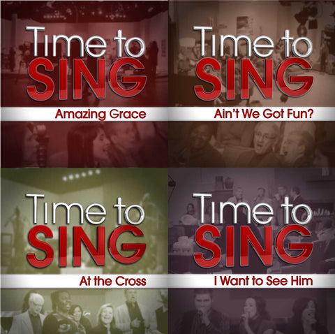 Amazing Grace, Ain't We Got Fun, At the Cross, I Want to See Him (4 CD Set)