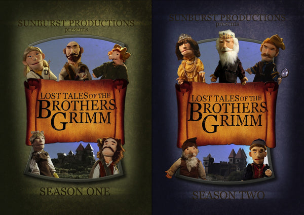 Lost Tales of the Brothers Grimm Season 1 & 2 DVD Sets