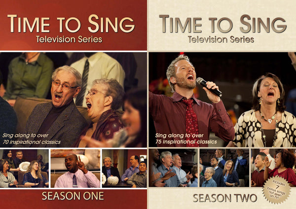 Time to Sing Seasons 1 & 2 DVD Sets