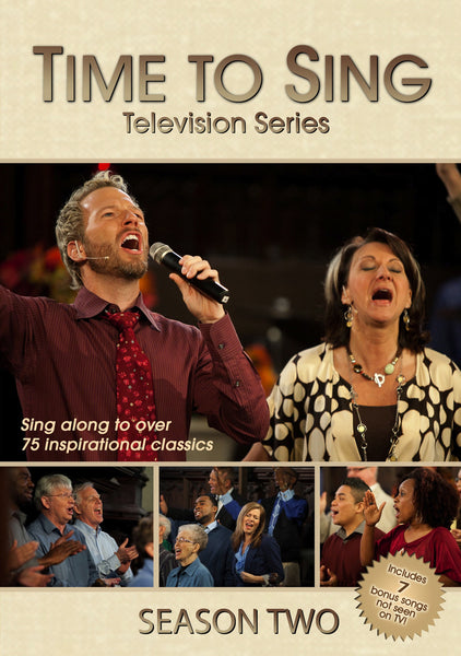 Time to Sing Season 2 (4 Disc DVD Set)