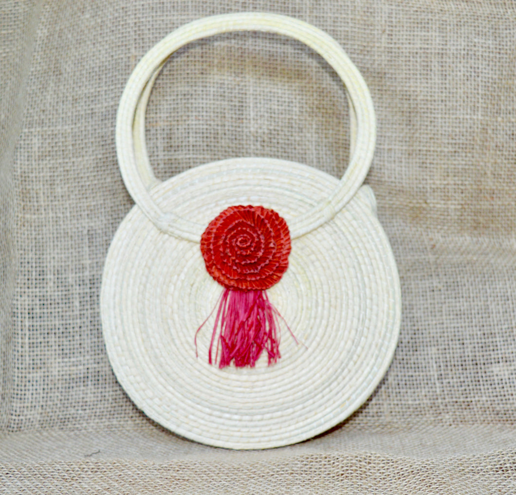 Rose, buriti handbag