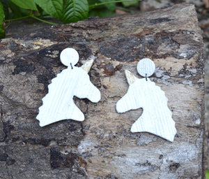 Unicorn, earrings