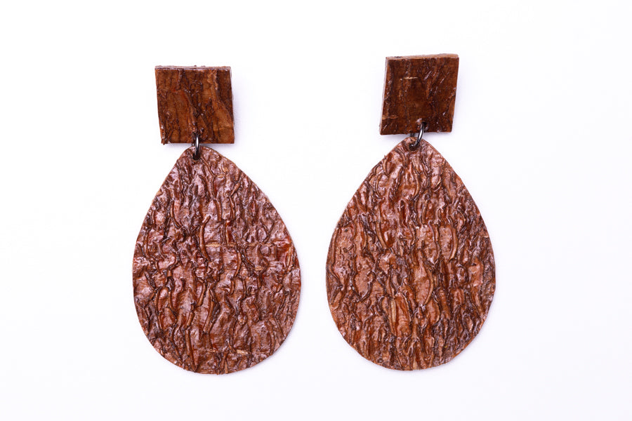 Manioc lovers, earrings