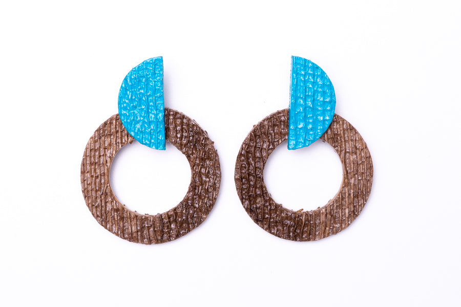 Wave, earrings