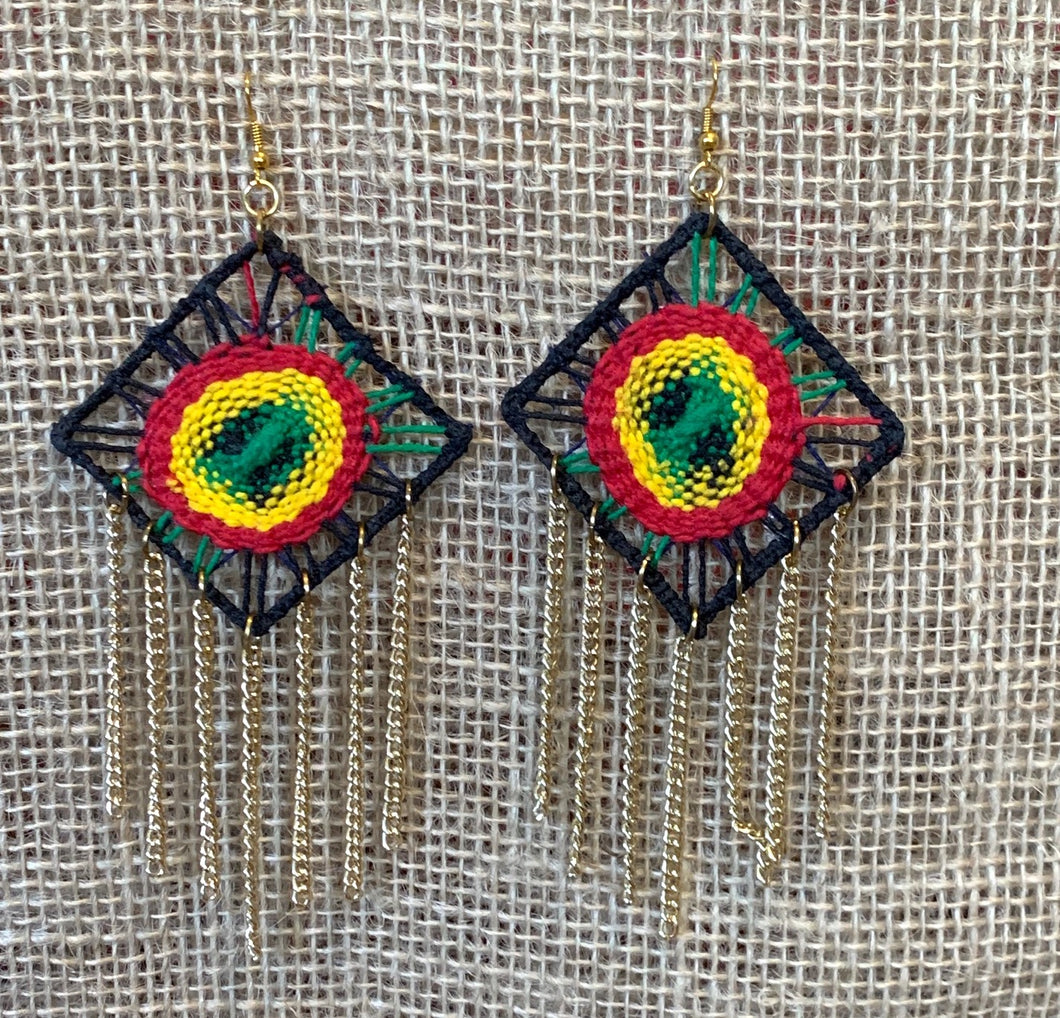 Reggae style, earrings
