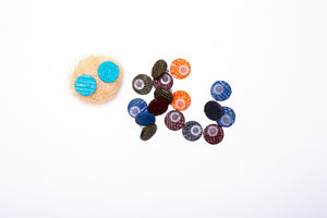 Mini Buttons,earrings