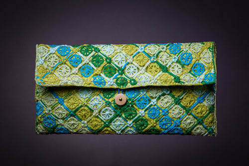Meadow, clutch bag