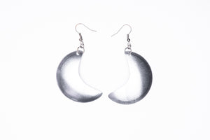 Crescent moon, earrings