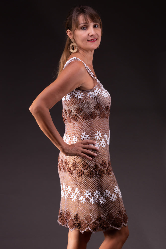 Blossom, bobbin lace dress